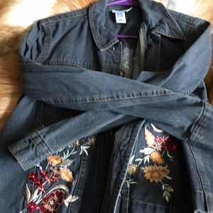 Jean jacket cold water creek
